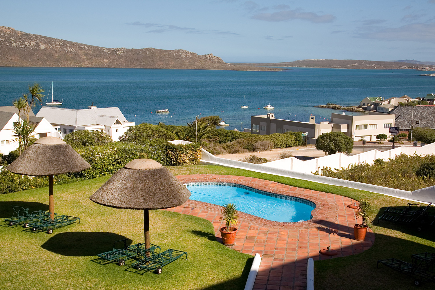 Langebaan, view from The Farmhouse Hotel