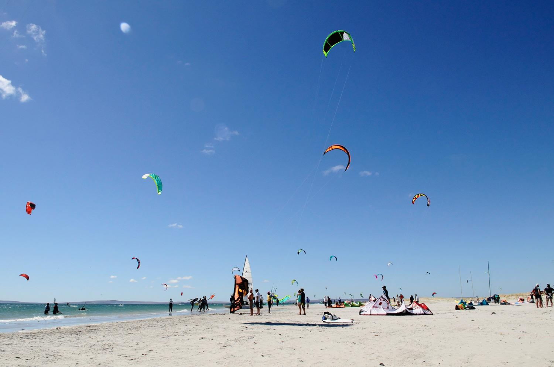 Langebaan Main Beach, Langebaan Kitesurfing