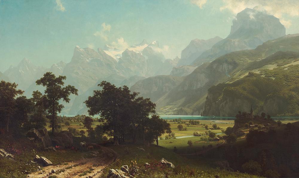 Lake Lucerne, Albert Bierstadt