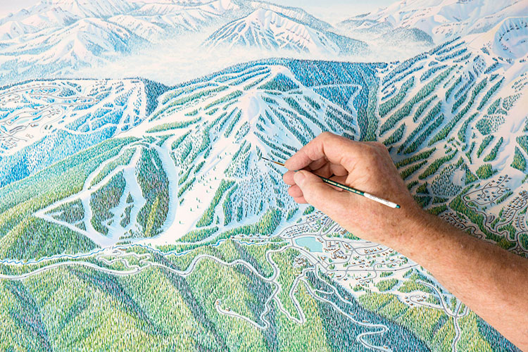Mapping The Mountains