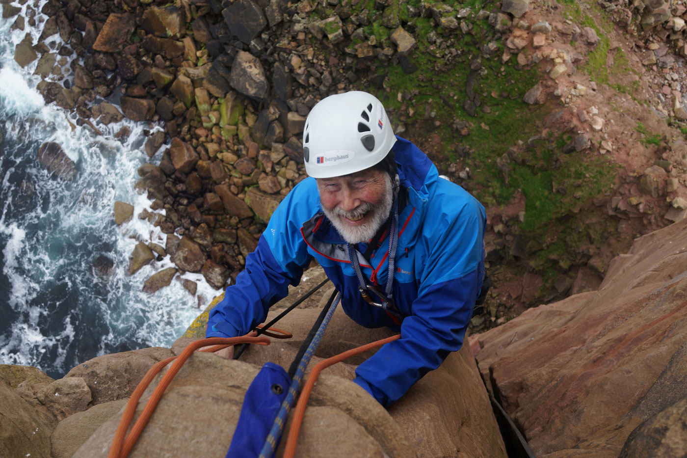Chris Bonington, Age 80, Old Man of Hoy