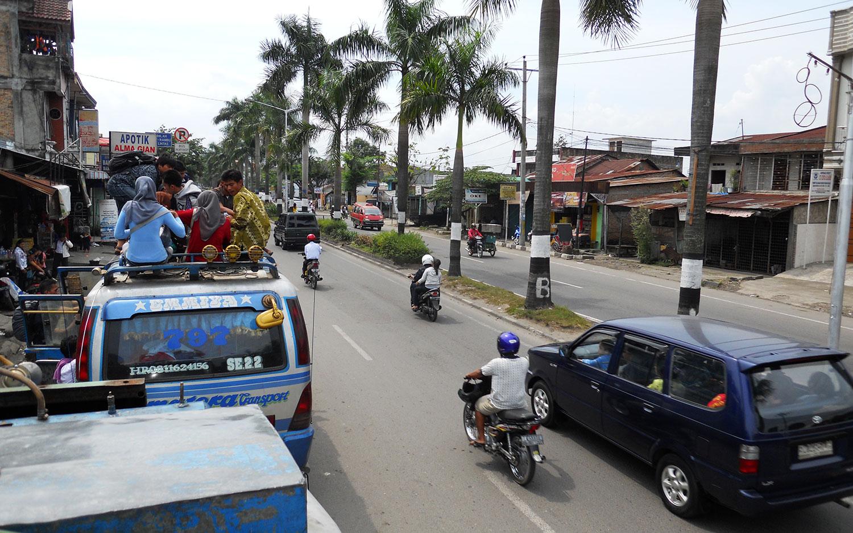 Busride from Medan