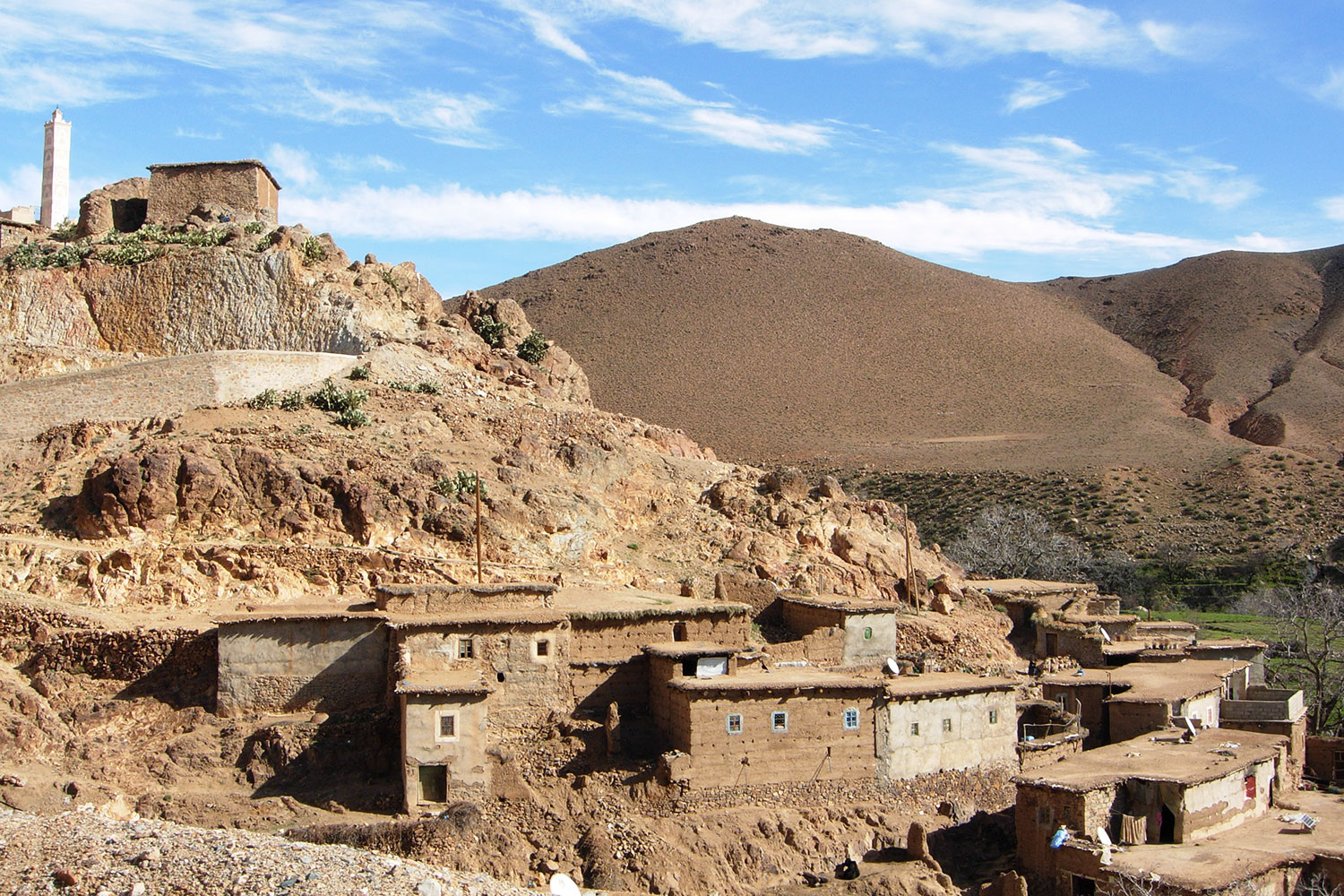 High Atlas Mud Village, Morocco