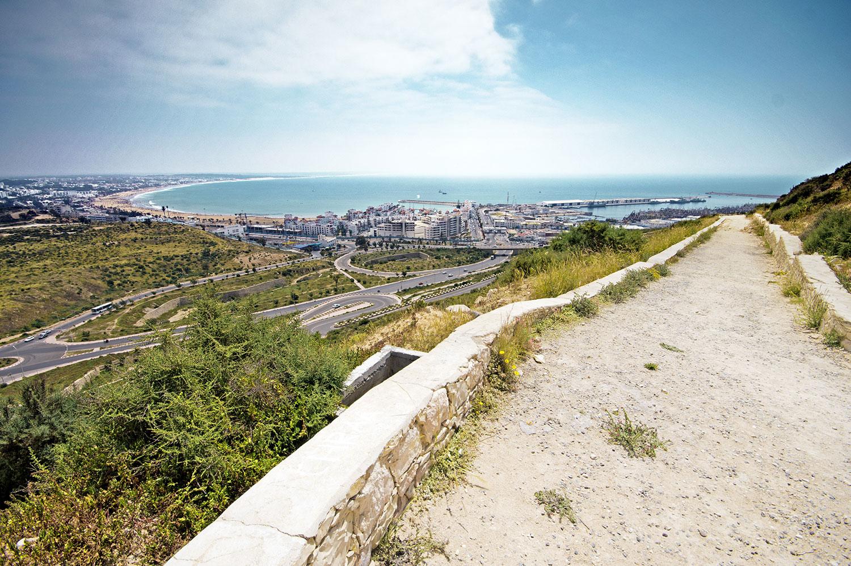 Overlooking Agadir