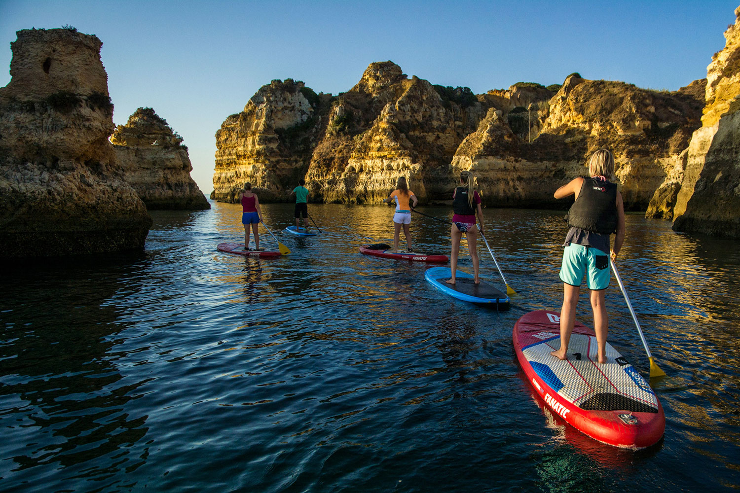 SUPing, Portugal