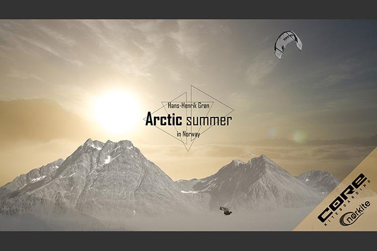 Kitesurfing Norway's Arctic Summer - A short by Hans-Henrik Grøn