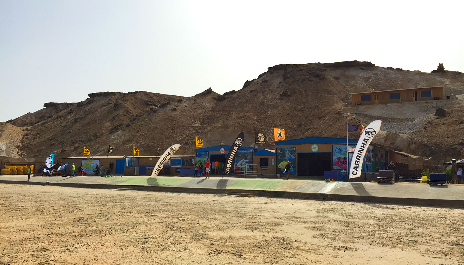 Kitesurf centre at Dakhla Spirit