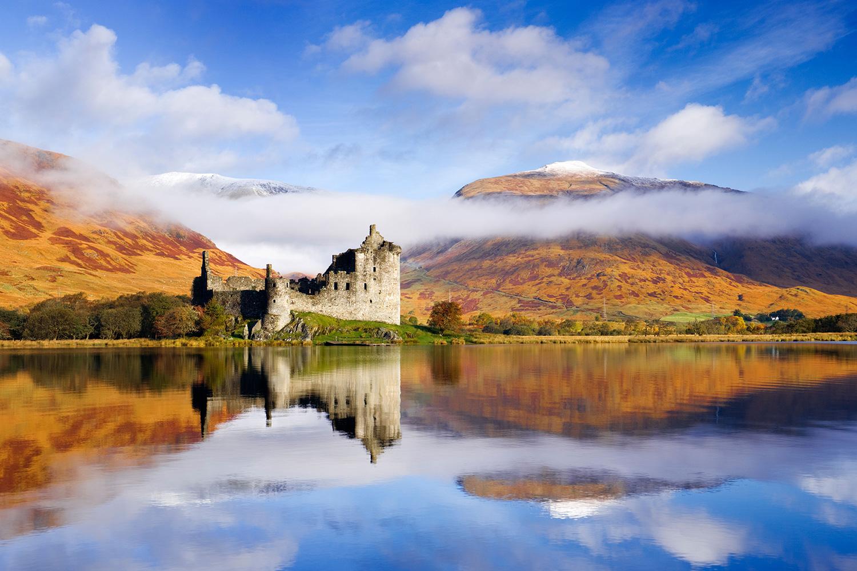 Kilchurn Castle, Loch Awe, Argyll, Scotland
