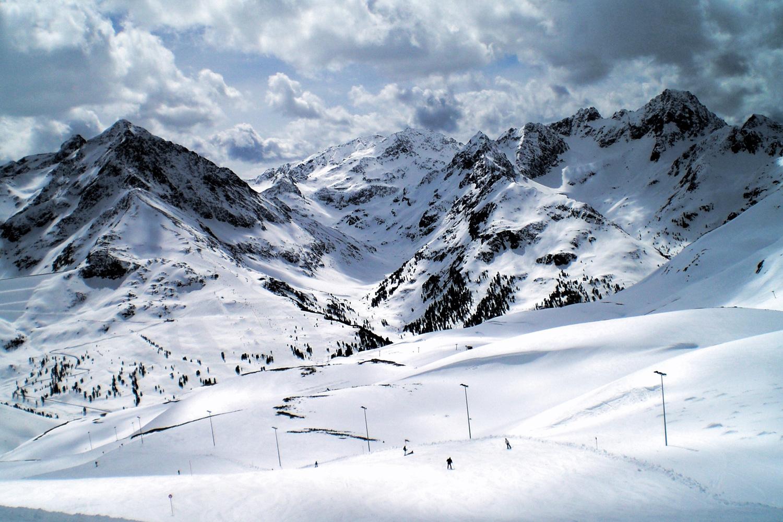 Kuhtai ski area, Innsbruck, Austria