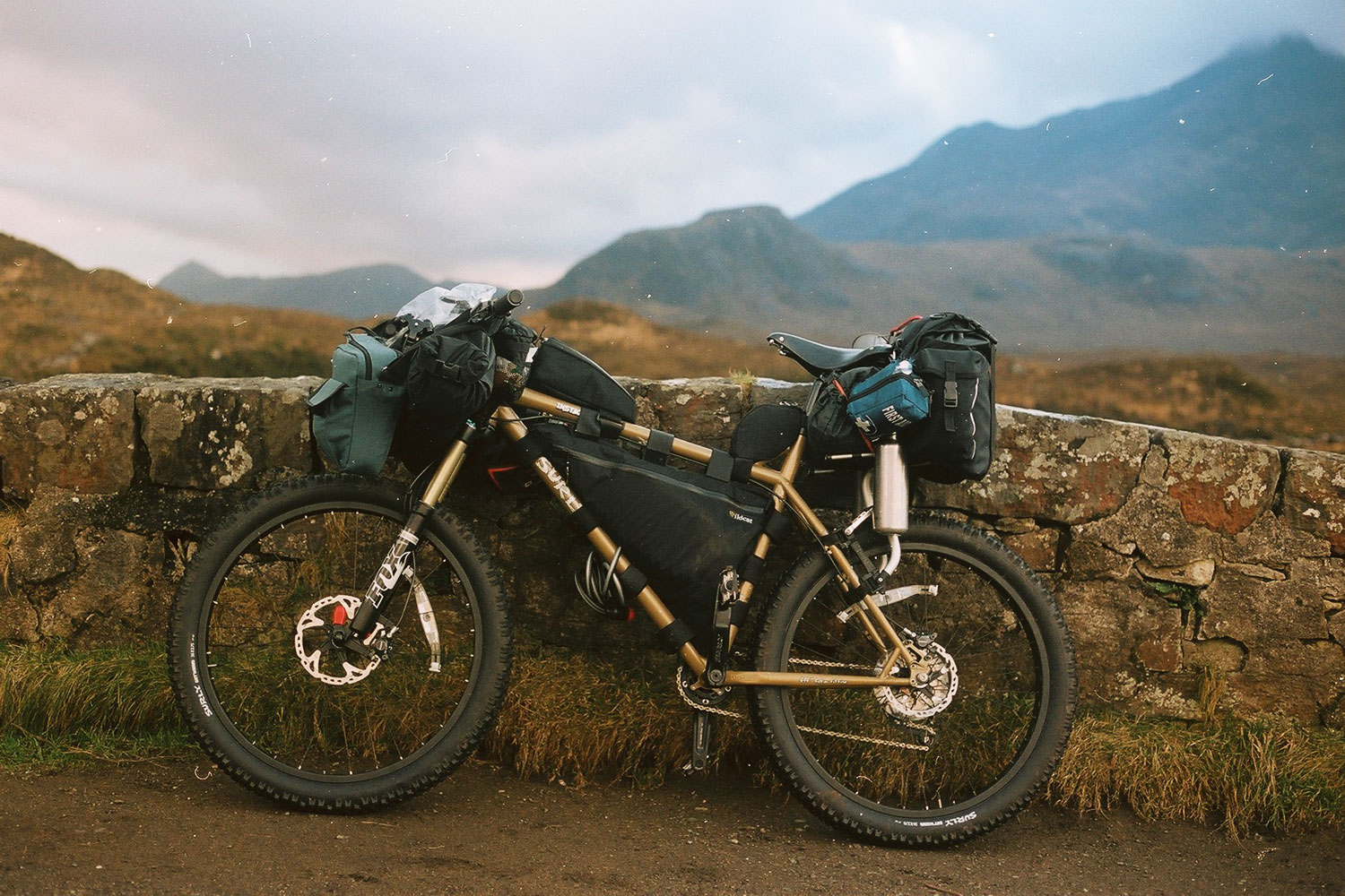 Bikepacking, Isle of Skye