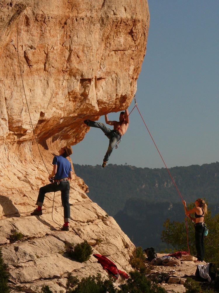 Siurana climbing