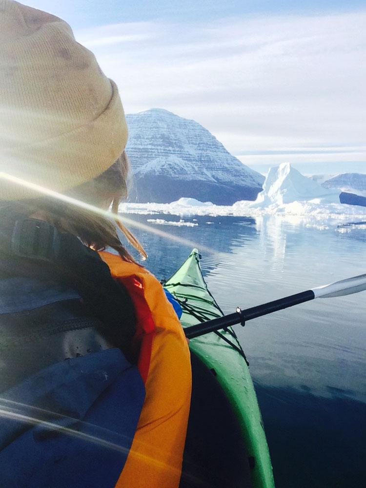 Kayaking Greenland POV