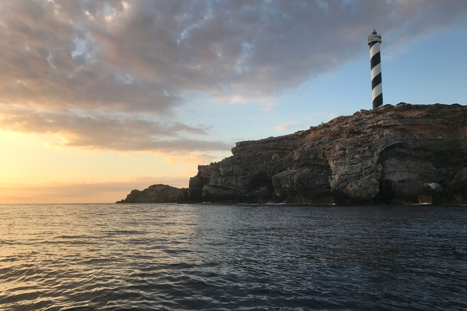 Moscarter lighthouse, SUPing Ibiza