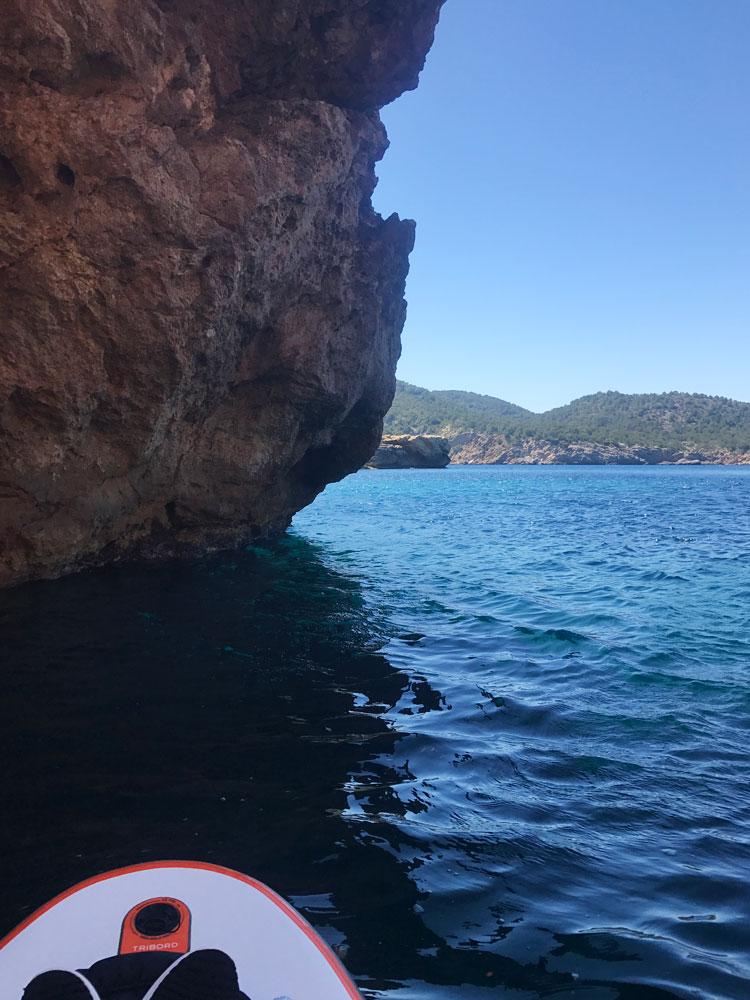 Tagomago Island, Ibiza - by SUP board