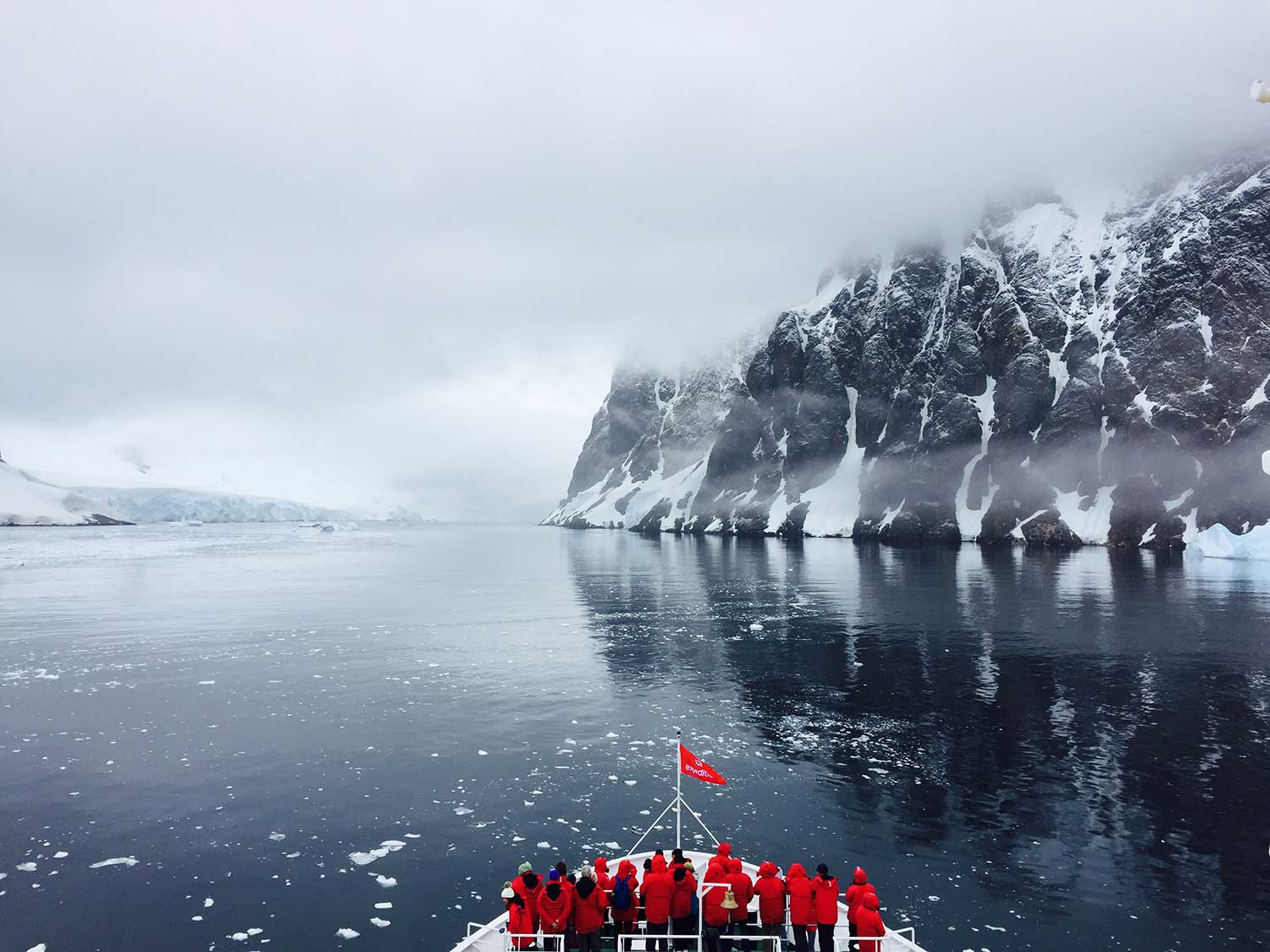 Antarctica journey, Worlds End