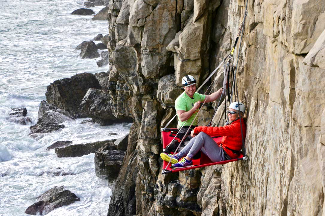 Nine Things To Know About Cliff Camping