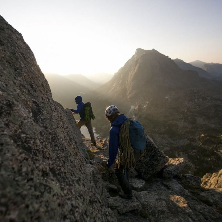 National Geographic Travel - Climbing in the mountains