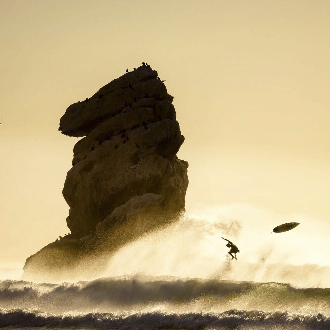 Chris Burkard's iconic surfing photography