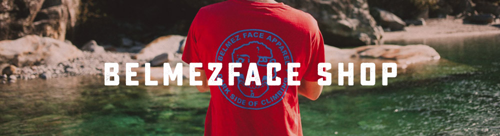 BelmezFace Shop on WildBounds - UK Stockist - Bouldering Came First