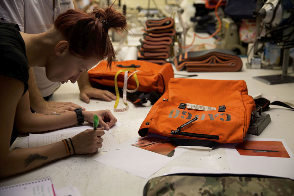 CARGO bags being designed