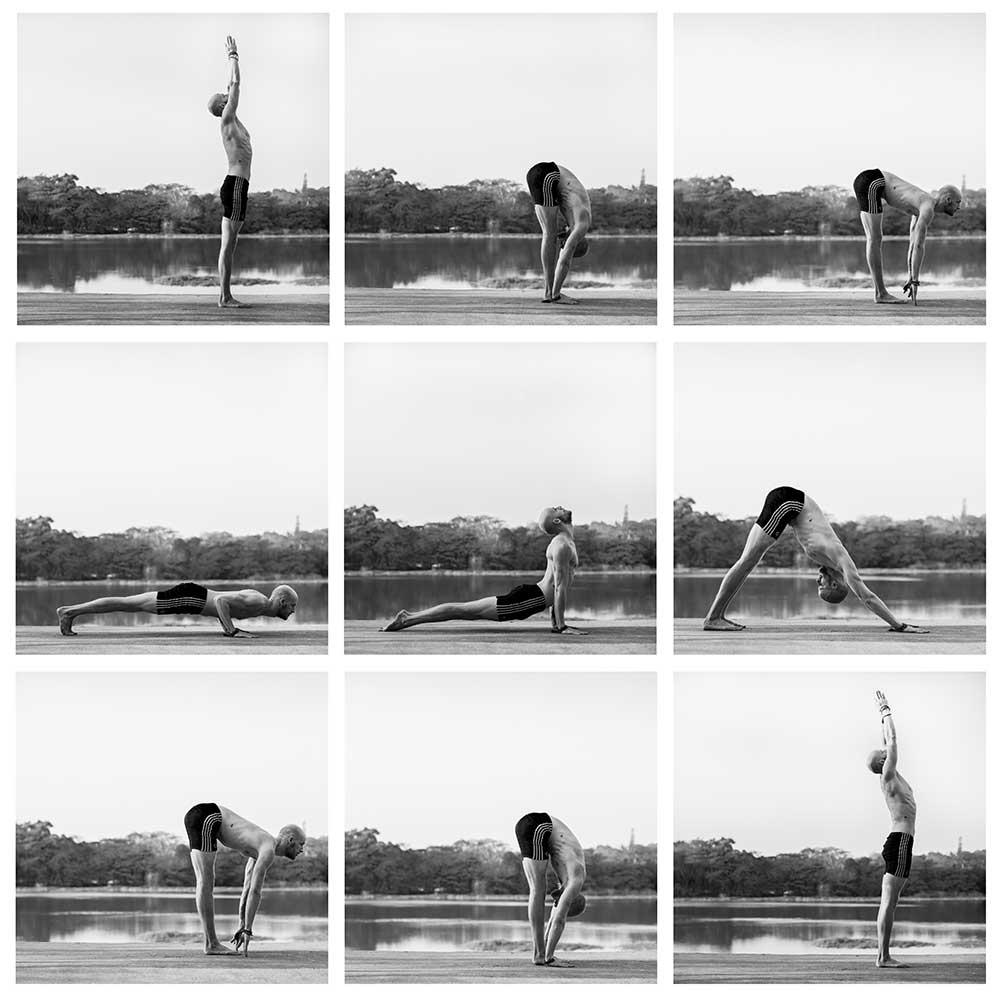 Pete Hughes Yoga Teacher, Kitesurfer, WildBounds Ambassador