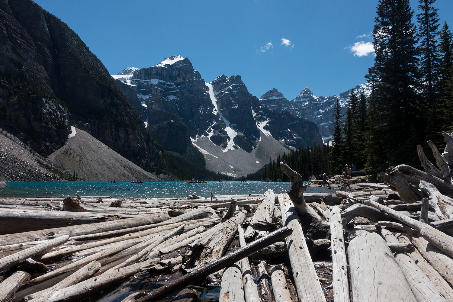 Moraine Lake Alberta - Earning the Landscape