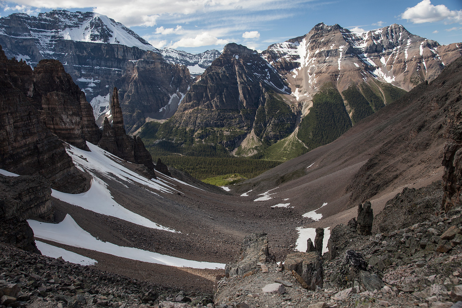 Alberta - Sentinel Hike - Earning the Landscape