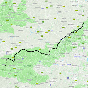 The Ridgeway map