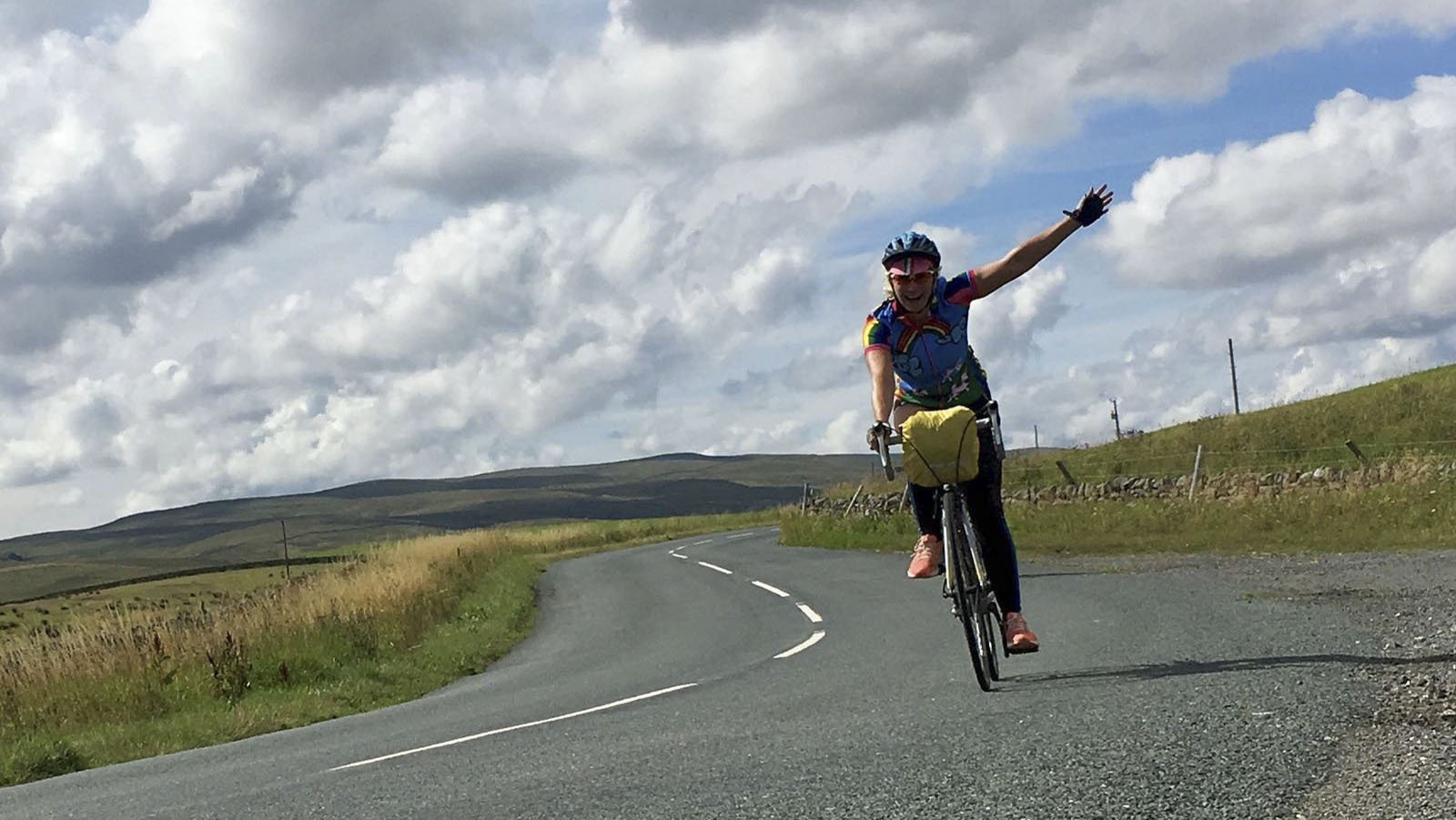 Cycling in Northumberland with AU