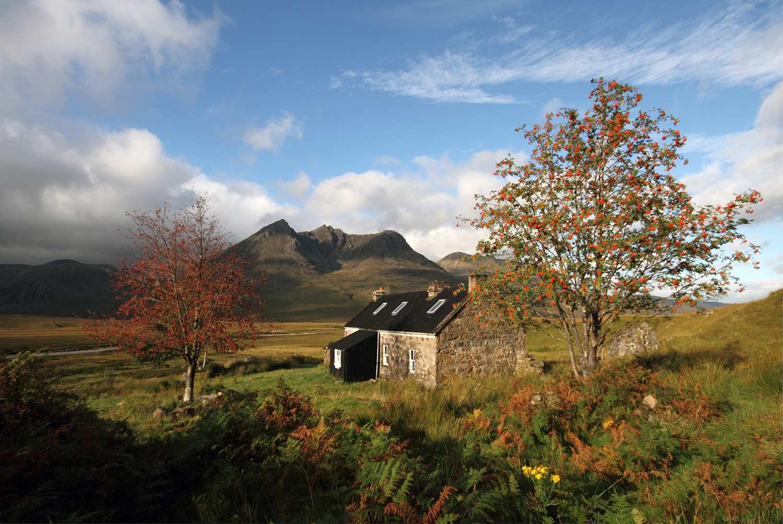 Shenavall Northern Highlands. Credit: Scottish Bothy Bible