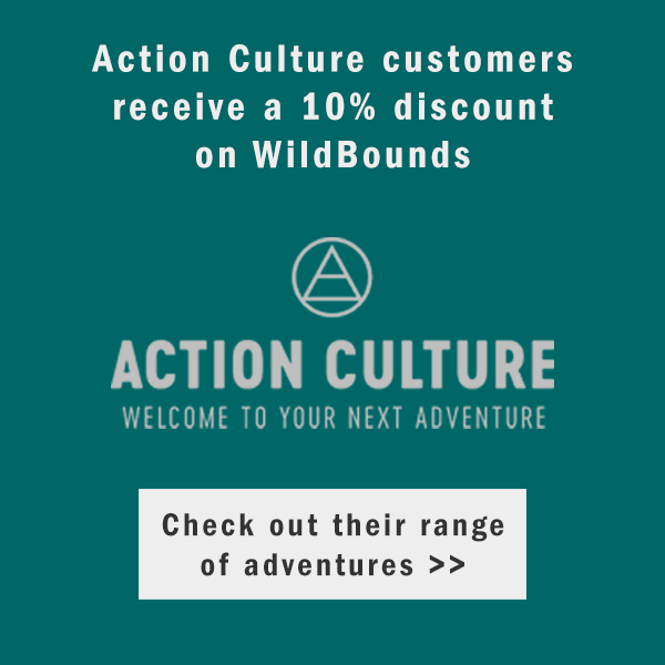 ACTION CULTURE customers get 10% off the WildBounds Store